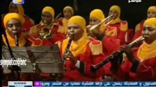 فرقة المجندات الموسيقية - مارش عسكري