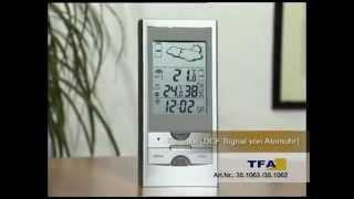 Produktvorstellung: Funk-Wetterstation TFA SIGMA (Artnr.: 830535)