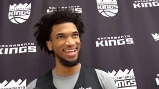 Kings rookie Marvin Bagley III looks ahead to NBA debut on Wednesday vs. Jazz