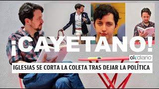 """¡LAS REDES SE INUNDAN DE MEMES CON EL NUEVO LOOK """"CAYETANO"""" DE PABLO IGLESIAS!"""