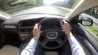 Audi A4 SE Technik POV Test Drive