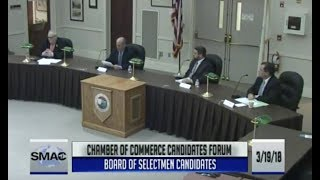 Stoughton Chamber of Commerce Candidates Forum (3-19-18)