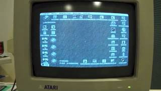 Atari Mega ST - Boot up Procedure
