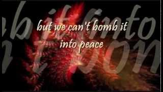 Michael Franti - Bomb the World w/lyrics