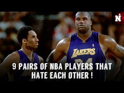 9 Pairs Of NBA Players That HATE Each Other !