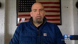 """Lt. gov. fetterman says, """"i hope and expect they're going to exercise their rights protests i support that, as long it stays peaceful.""""subscribe to..."""