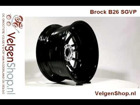 Brock B26 Sgvp Wwwvelgenshopnl