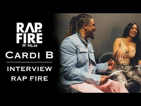 Cardi B - Interview #RAPFIRE