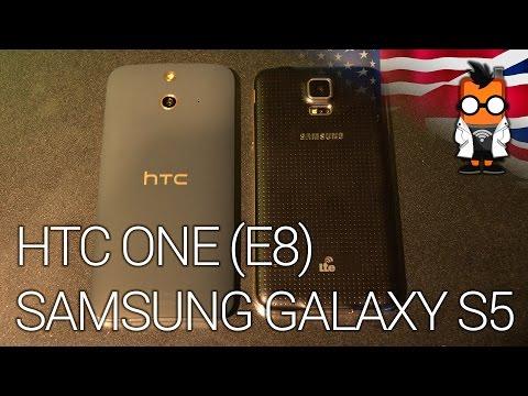 HTC ONE (E8) vs Samsung Galaxy S5 - Comparison