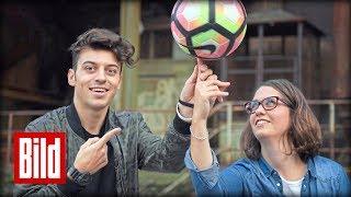 Fussball Freestyle - Keine trickst mit dem Ball wie Marcel Gurk