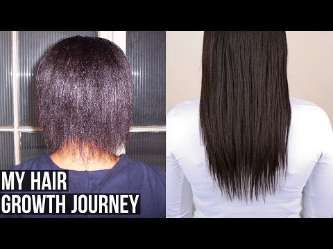My Hair Growth Journey (Relaxed Hair)