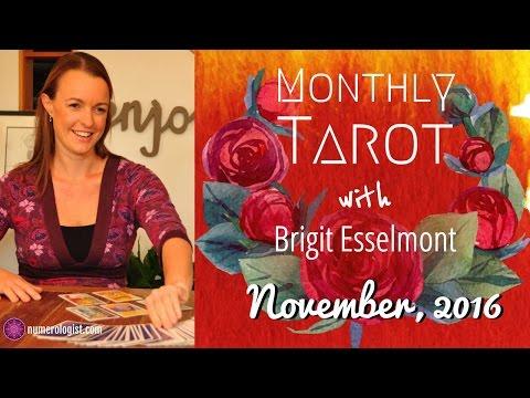 November 2016 Tarot Reading With Brigit Esselmont - 동영상