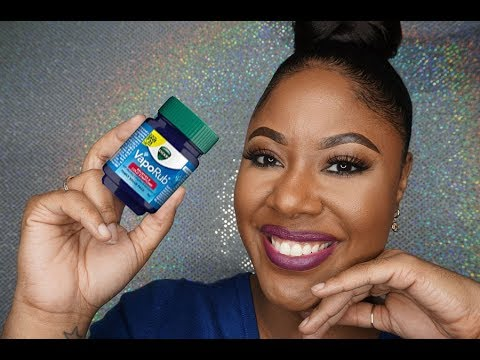 Reclaim Your Edges & Eyebrows with Vick&39;s VaporRub