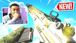 the SECRET ASSAULT RIFLE in Modern Warfare.. (MK14)