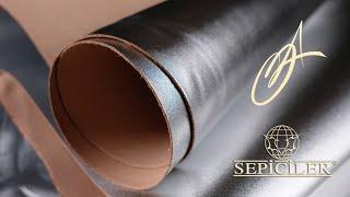 Sepici Leather - Disco Silver Veg Tan 3-4oz