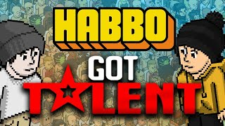 i hosted an awful talent show in Habbo