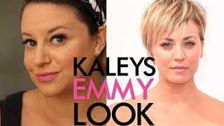 Kaley Cuoco's Emmy Red Carpet Makeup | Jamie Greenberg Makeup Thumbnail