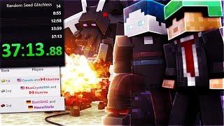 3. Platz der WELT Minecraft Duo Speedrun (37:13.88) - Random Seed