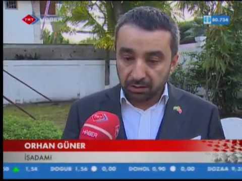 Vefa Group Başkanı Orhan Güner Gabon'da gerçeklestirecekleri yeni yatırımlarından söz etti