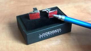 Запонки Lindenmann 151(Видео обзор немецких запонок модели Lindenmann 151. Запонки изготовлены в Германии, состоят из бронзы и покрыты..., 2011-06-16T13:38:49.000Z)
