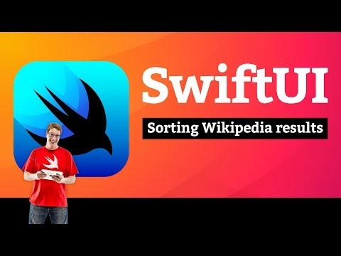 Sorting Wikipedia results – Bucket List SwiftUI Tutorial 11/13 thumbnail