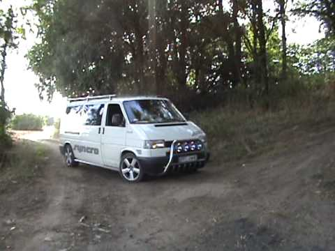vw t4 syncro 2 5tdi 4x4 off road poland youtube. Black Bedroom Furniture Sets. Home Design Ideas