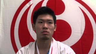 2014年10月25・26日に開催された第46回全日本空手道選手権大会で優勝し...