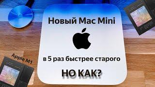 Обзор  Apple Mac mini с процессором M1: Да он просто в пять раз быстрее!