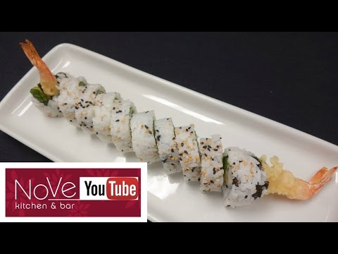 Shrimp Tempura Roll - How To Make Sushi Series