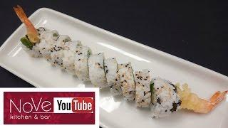 Shrimp Tempura Roll - How To Make Sushi Series