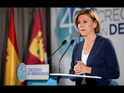"""Cospedal dice que no hizo """"recortes"""" cuando gobernaba Castilla-La Mancha"""
