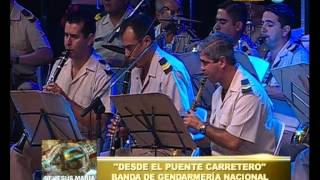 Festival Jesús María - Quinta noche - Banda de la Gendarmería nacional - 08-01-13