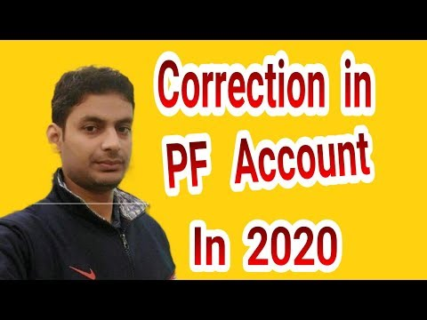 UAN Name Correction Online Date of Birth-Fathers Name-Gender Update in Epf-Epfo-Pf Account from YouTube · Duration:  3 minutes 47 seconds