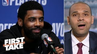 Download Letting Kyrie walk would be a major mistake for the Celtics - Jared Dudley   First Take Mp3 and Videos