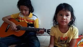 Kasih Ibu Kepada Beta (#guitarselftaught_Hans 11yo 11m)