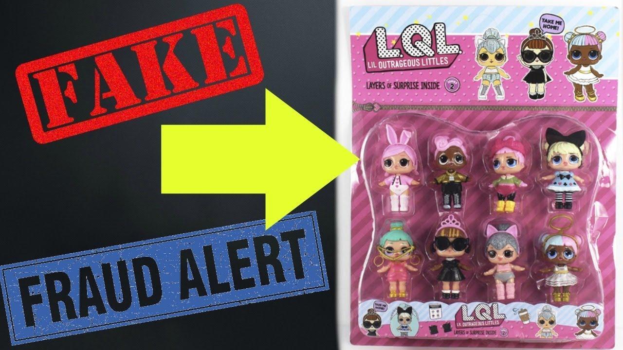 Fake Lol Surprise Dolls Series 2 Wave 2 Youtube