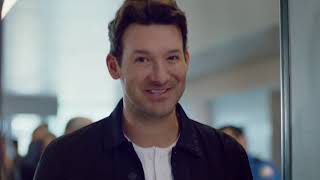 Skechers USA Slip-on Commercial with Tony Romo