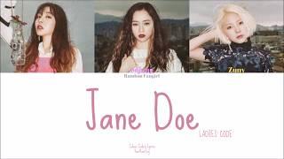 LADIES' CODE (레이디스 코드) - Jane Doe [Colour Coded Lyrics Han/R…