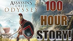 "Assassin's Creed Odyssey's ""Complete Story"" Being 100 Hours Long Is Just Ridiculous"