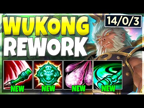 Riot Reworked Wukong AGAIN.. And It's INSANELY Broken Now - League Of Legends