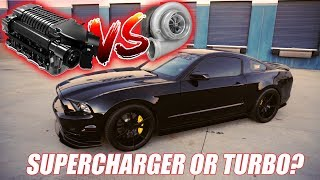 What's better? Supercharger vs. Turbo?