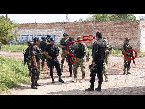 Bronca entre Policias vs Militares(Sale muy mal) | Gran hacker Oficial