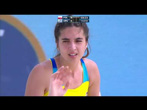 VIII Women's Beach handball world championship POL VS URU
