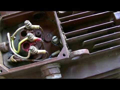 Как сделать из трех проводов на электродвигателе шесть