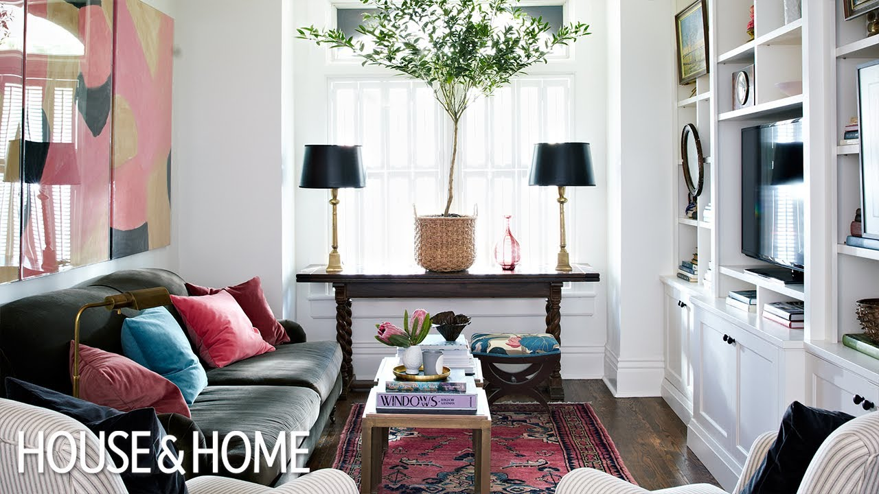 Interior Design — How To Cosy Up A Small LivingDining Room  YouTube