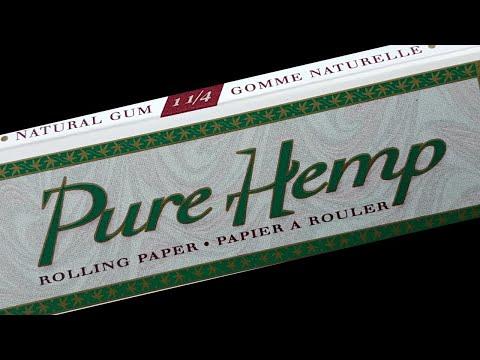 Pure Hemp 1 1/4 Rolling Paper