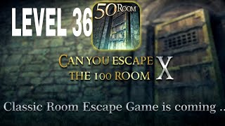Can You Escape The 100 room X level 36 Walkthrough