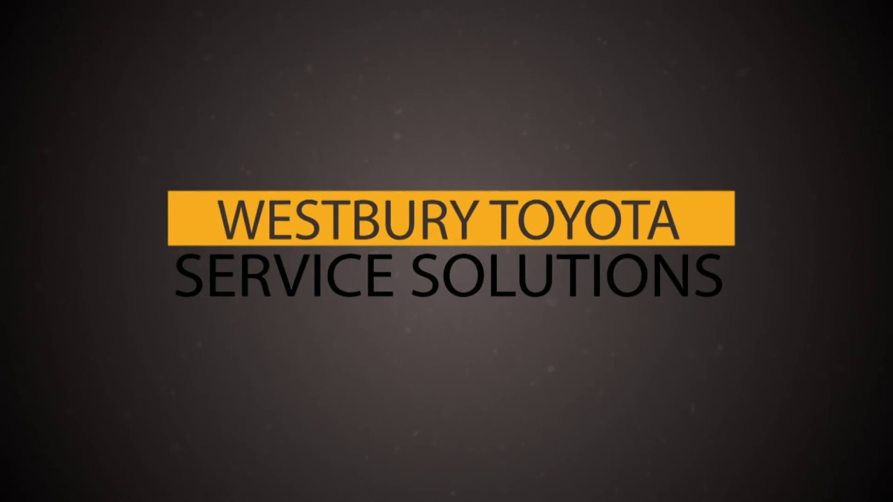 Do I Need An Ointment For Service Westbury Toyota Solutions