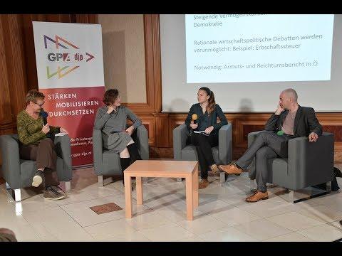 """Live-Stream: """"Digitalisierung als Verteilungsfrage"""" - GPA-djp und Betriebsrat der OeNB"""
