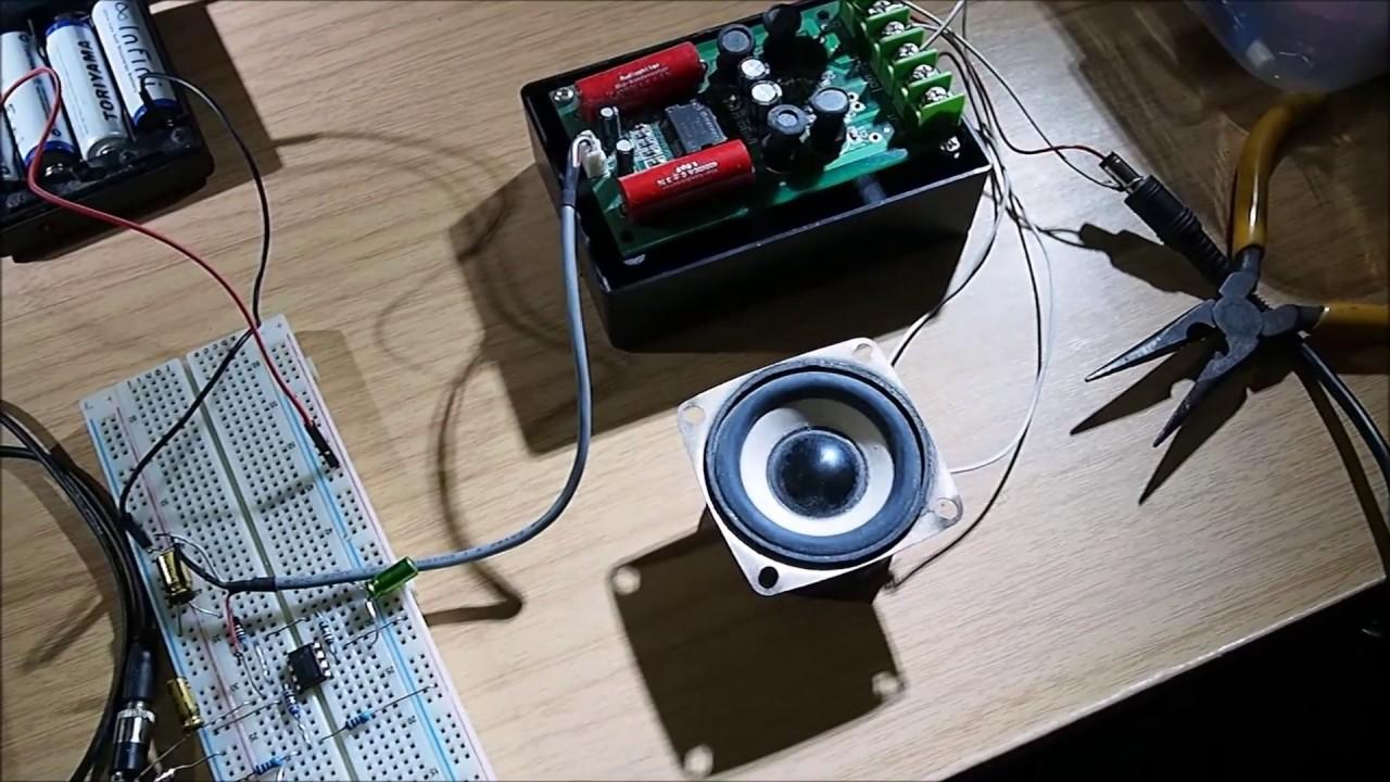 simple audio preamplifier circuit diagram  YouTube